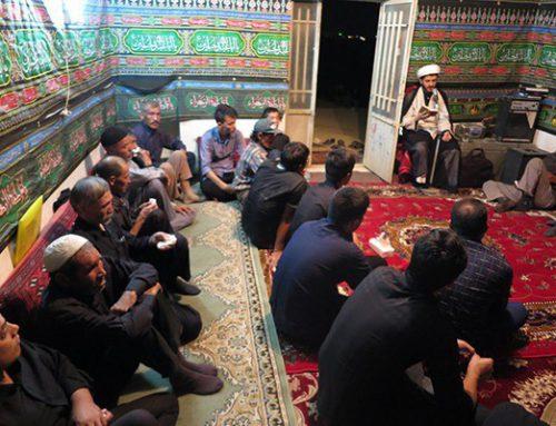 برگزاری مراسم عزای سید و سالار شهیدان در کوره های آجرپزی