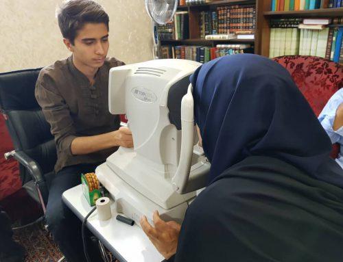 'گزارش تصویری/انجام معاینات چشم پزشکی برای 300 مددجو