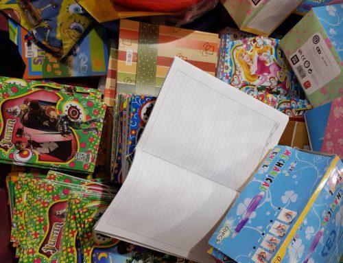 بسته های حمایتی لوازم التحریر و پوشاک